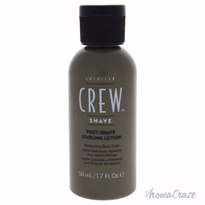 American Crew Post-Shave Cooling Lotion for Men 1.7 oz - After shave for men | Best Mens After Shave | Best Aftershave Splash | Aftershave Lotion | All Natural Skin care | AromaCraze.com