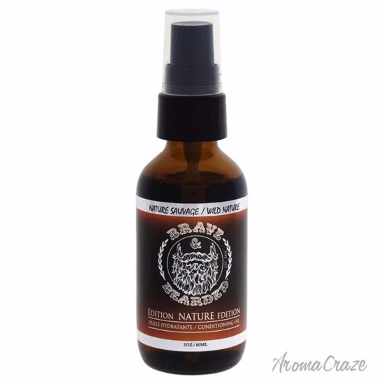 Brave & Bearded Beard Oil Wild Nature Oil for Men 2 oz