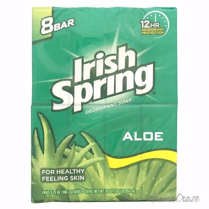 Irish Spring Aloe Deodorant Soap Unisex 8 x 4 oz