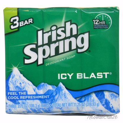 Irish Spring IcyBlast Cool Refreshment Deodorant Soap Unisex