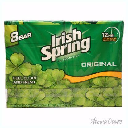Irish Spring Original Deodorant Soap Unisex 8 x 4 oz