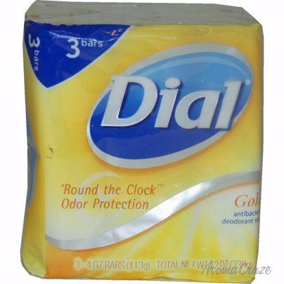 Dial Gold Antibacterial Deodorant Soap Unisex 3 x 4 oz