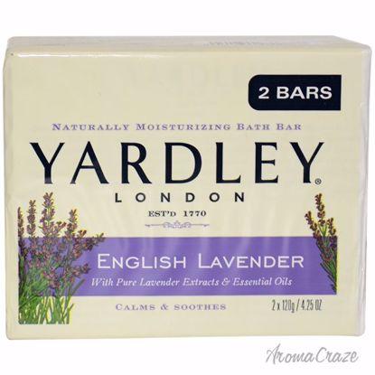 Yardley London English Lavender Bar Unisex 2 x 4.25 oz