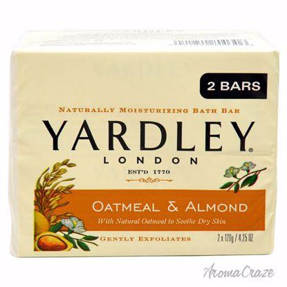 Yardley London Oatmeal & Almond Bar Unisex 2 x 4.25 oz