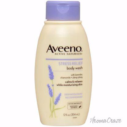 Aveeno Active Naturals Stress Relief Body Wash Unisex 12 oz