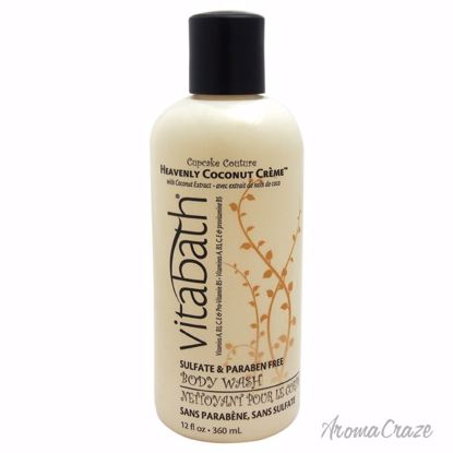 Vitabath Heavenly Coconut Creme Body Wash Unisex 12 oz