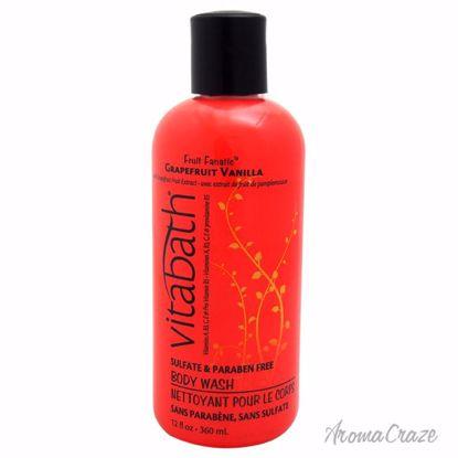 Vitabath Grapefruit Vanilla Body Wash Unisex 12 oz