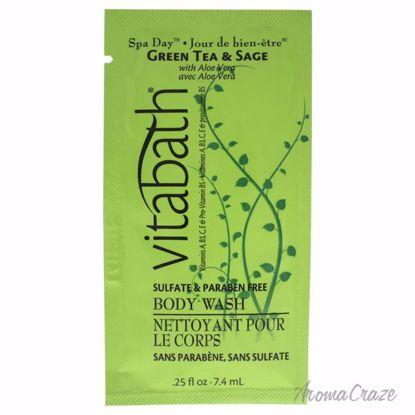 Vitabath Green Tea & Sage Body Wash Unisex 0.25 oz