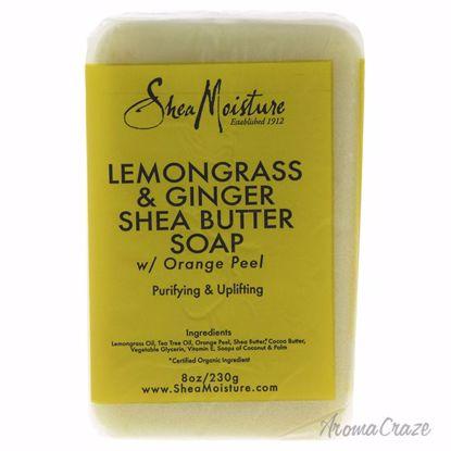 Shea Moisture Lemongrass & Ginger Shea Butter Soap Bar Unise