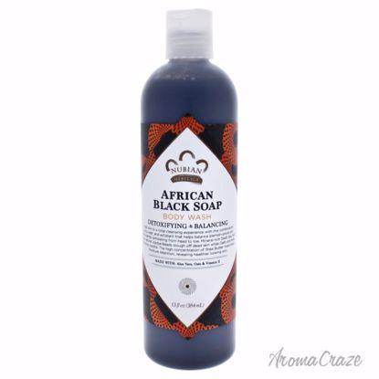 Nubian Heritage African Black Soap Body Wash Unisex 13 oz