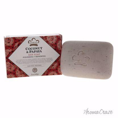 Nubian Heritage Coconut & Papaya Body Soap Bar Unisex 5 oz