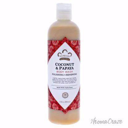 Nubian Heritage Coconut & Papaya Body Wash Unisex 13 oz