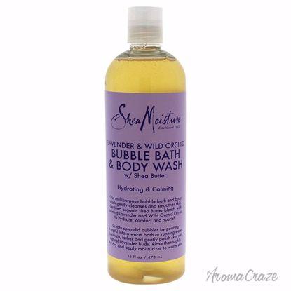 Shea Moisture Lavender & Wild Orchid Bubble Bubble Bath & Bo