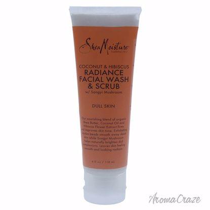 Shea Moisture Coconut & Hibiscus Radiance Facial Wash & Scru
