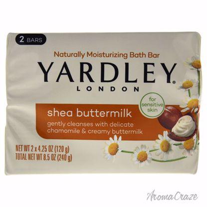 Yardley London Shea Buttermilk Bar Unisex 2 x 4.25 oz