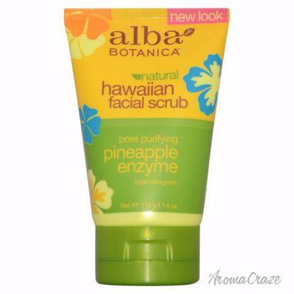 Alba Botanica Hawaiian Pineapple Enzyme Facial Scrub Unisex