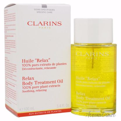 Clarins Relax Body Treatment Oil Unisex 3.4 oz