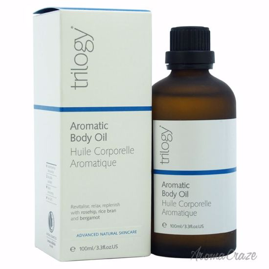 Trilogy Aromatic Body Oil Unisex 3.3 oz - Top Skin Care Products | Best Anti Aging Skin Care Products| Body Care | All Natural Skin care | AromaCraze.com