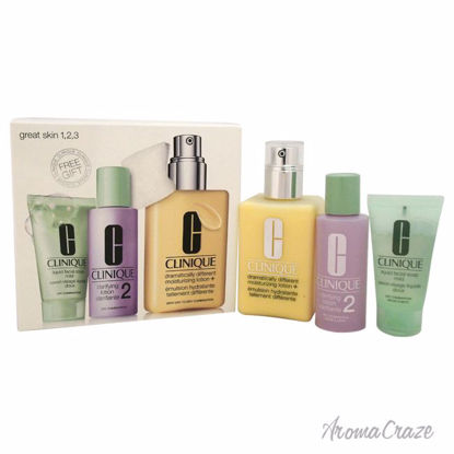 Clinique Great Skin 3-Step Skin Care System Dry Combination