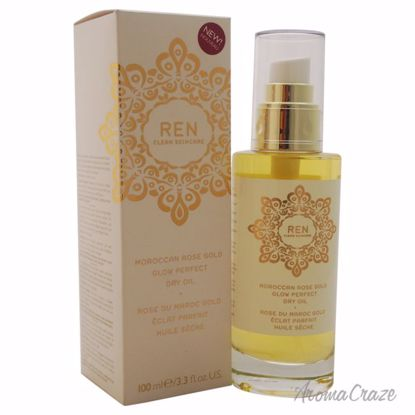 REN Moroccan Rose Gold Glow Perfect Dry Oil Unisex 3.3 oz