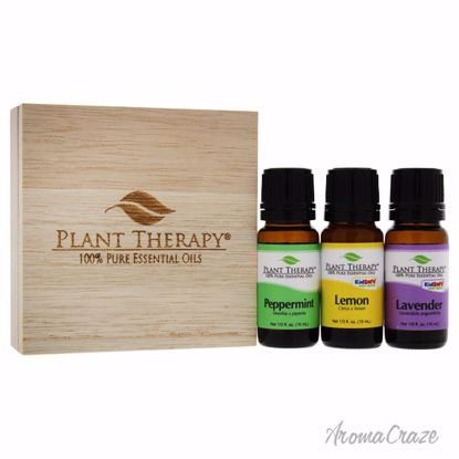 Plant Therapy Essential Oil Trio 0.33oz Lemon Oil, 0.33oz La