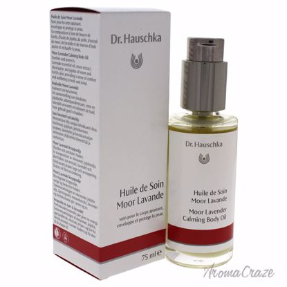 Dr. Hauschka Moor Lavender Calming Body Oil for Women 2.5 oz