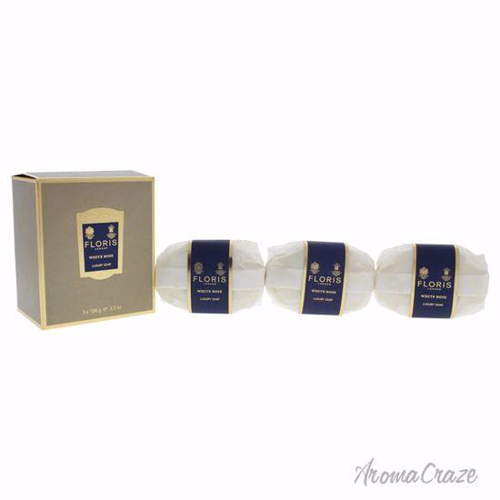 Floris London White Rose Luxury Soap for Women 3 x 3.5 oz