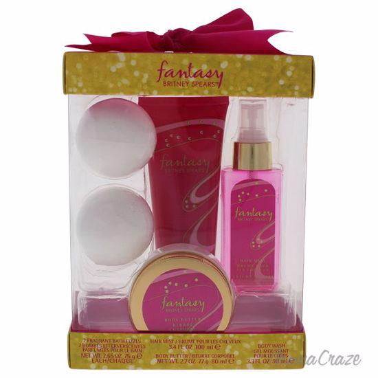 Britney Spears Fantasy 3.4oz Hair Mist, 3.3oz Body Wash, 2.7