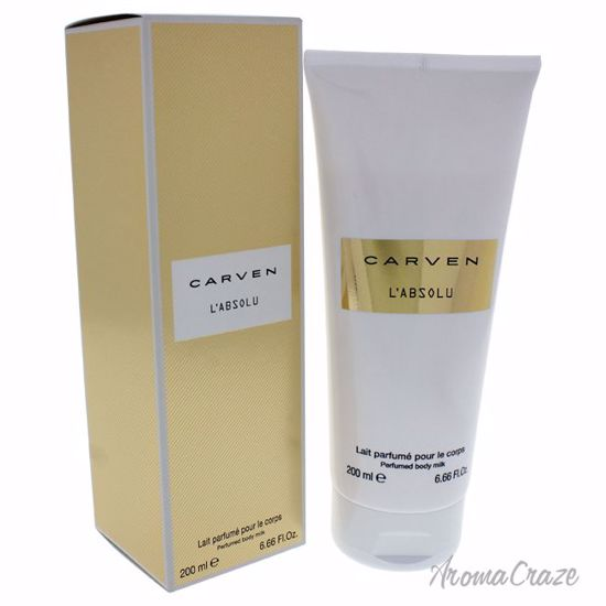 Carven L'Absolu Perfumed Milk Body Lotion for Women 6.66 oz