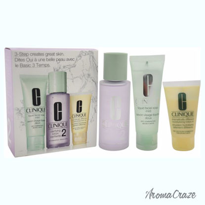 Clinique 3-Step Skin Care System For Skin Type 2 Dry Combina