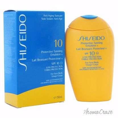 Shiseido Protective Tanning Emulsion N SPF 10 (For Face and