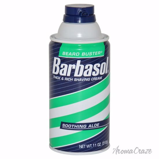Barbasol Soothing Aloe Thick & Rich Shaving Cream for Men 11