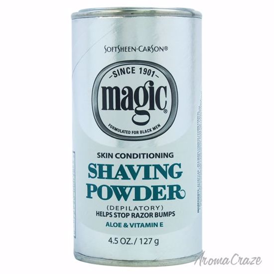 SoftSheen Carson Magic Skin Conditining Shaving Powder for M