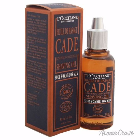 L'Occitane Cade Shaving Oil for Men 1 oz