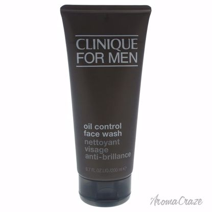 Clinique For Men Oil Control Face Wash for Men 6.7 oz - Face Care Products | Facial Care Products | All Natural Skin care | Best Anti Aging Skin Care Products | AromaCraze.com