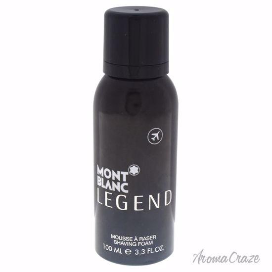 Mont Blanc Legend Shaving Foam for Men 3.3 oz