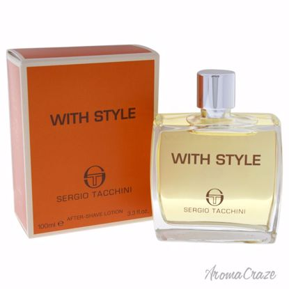 Sergio Tacchini With Style After Shave Lotion for Men 3.3 oz