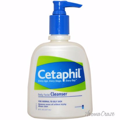 Cetaphil Daily Facial Cleanser For Normal to Oily Skin Unise