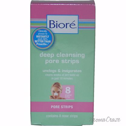 Biore Original Deep Cleansing Pore Strips Unisex 8 Pc