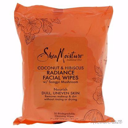 Shea Moisture Coconut & Hibiscus Radiance Facial Wipes Unise