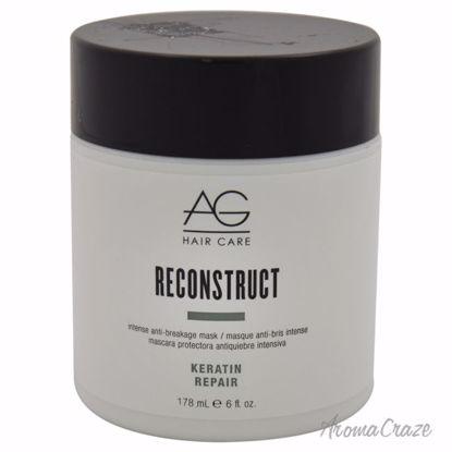 AG Hair Cosmetics Reconstruct Intense Anti-Breakage Mask Unisex 6 oz - Hair Treatment Products | Best Hair Styling Product | Hair Oil Treatment | Damage Hair Treatment | Hair Care Products | Hair Spray | Hair Volumizing Product | AromaCraze.com