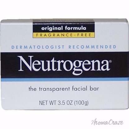 Neutrogena Fragrance Free Transparent Facial Bar Original Fo