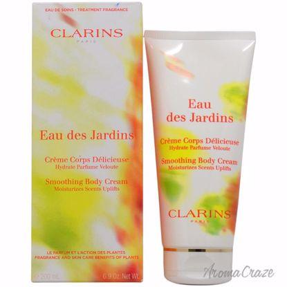Clarins Eau Des Jardins Smoothing Body Cream Unisex 6.9 oz