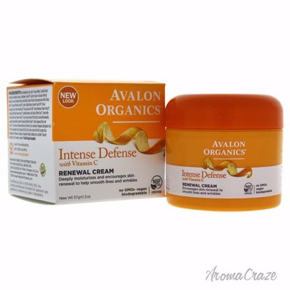 Avalon Organics Vitamin C Renewal Cream Unisex 2 oz
