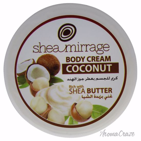 Shea Mirrage Body Cream Coconut Cream Unisex 3.38 oz