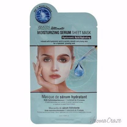 Satin Smooth Moisturizing Serum Sheet Mask Unisex 0.84 oz