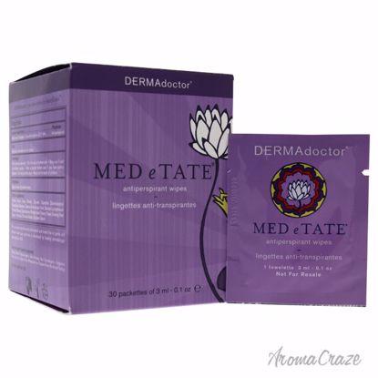DERMAdoctor MED e TATE Antiperspirant Wipes for Women 30 x 0