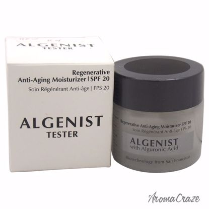 Algenist Regenerative Anti-Aging Moisturizer SPF 20 Moisturizer (Tester) for Women 2 oz - Face Care Products | Facial Care Products | All Natural Skin care | Best Anti Aging Skin Care Products | AromaCraze.com