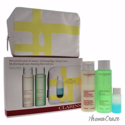 Clarins My First Beauty Step Cleansing Face and Eyes Combina