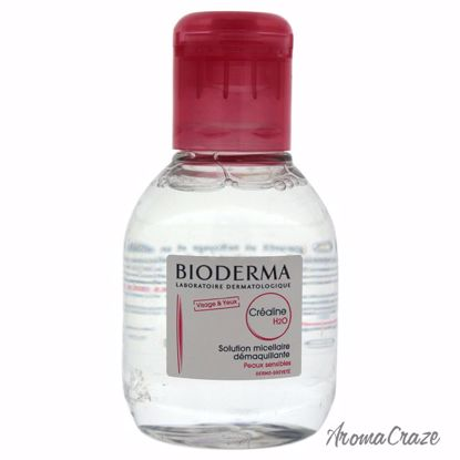 Bioderma Crealine H2O Makeup Remover Cleanser for Women 3.4